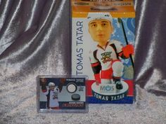 Grand Rapids Griffins Tomas Tatar SGA Bobblehead Detroit Red Wings & Jersey Card