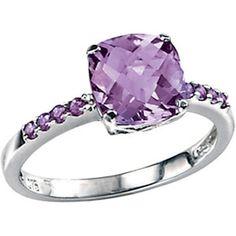 Amethyst Ring, Amethyst Gold Ring, Amethyst Diamond Ring, Silver Amethyst Ring…