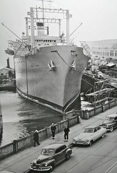 The James O'Hara at The Port of Seattle…1953 | The Old Motor