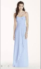 Image result for david's bridal bridesmaid dress ice blue