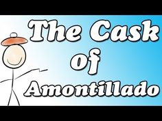 the cask of amontillado book report Book reports essays: literary analysis - cask of amontillado.