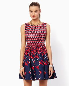Rome Vacation Fit and Flare Dress | Fashion Apparel and Clothing – Modern Americana | charming charlie