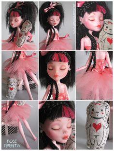 ROSE DREAMS Custom Monster High doll by raul-guerra.deviantart.com on @deviantART