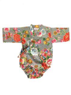 baby kimono romper
