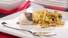 Receta de arroz bomba con merluza y verduras de nuestro cocinero Isma Prados.