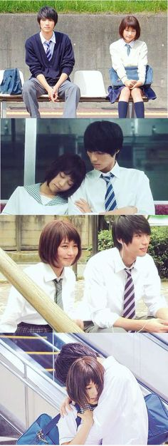 """[Trailer] Sota Fukushi and Kasumi Arimura, J live-action movie J live-action movie from manga """"Strobe Edge"""". Release: March 14th 2015"""