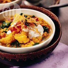 Curry de lentilles oranges