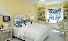 Hawthorne Yellow, Benjamin Moore.. Love this room