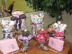 candy buffet for baby shower by June Livers