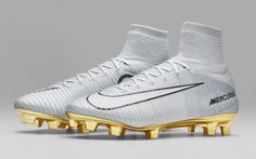 Brand New Nike Mercurial Victory CR7 S.E. (Platinum) FG Soccer Cleats Sizes 7-12