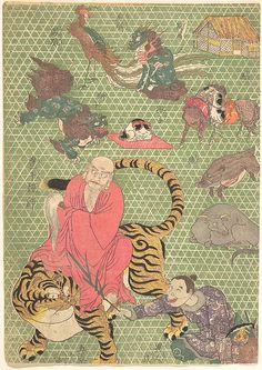 Utagawa Kunisada I and his school Period: Edo period (1615–1868) Date: 19th…