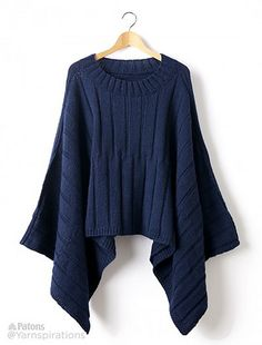 d64a2be18c Knit in Patons Classic Wool Worsted, the directional ribbing adds a dynamic  flair to this
