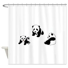 Find This Pin And More On Panda Bears Pandas At Play Shower Curtain
