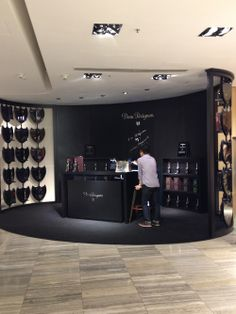 Dom Perignon anyone? Pop up store inside Lane Crawford flagship in IFC. Christmas is just around the corner.