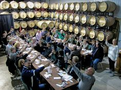 Sandy's Riverside Grill's annual Wine Tour Wine Tasting, Tours