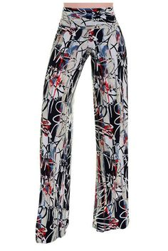 High Waist Fold Over Wide Leg Gaucho Palazzo Pants (Abstract Daisy) Trouser Pants, Wide Leg Pants, Stitch Fit, Printed Palazzo Pants, Cool Outfits, Fashion Outfits, Next Fashion, Boutique Design, Summer Wardrobe
