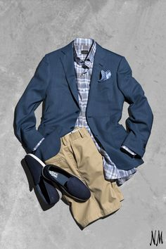 On The Blog: Get the most mileage out of a men's classic. NM Vice President of Men's Clothing Bruce Halus styles the staple men's jacket three ways.