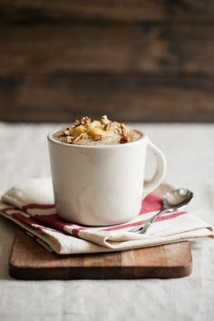 [ Recipe: Banana-Pecan Amaranth Porridge ] Using amaranth, water, salt, pecan pieces, walnut oil, maple syrup, cinnamon, bananas and milk (whole, almond, or coconut) to serve. ~ from NaturallYella.com