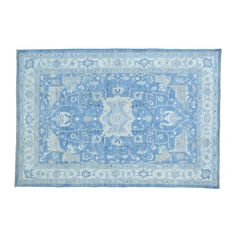 nice Washed Out Serapi Heriz Handmade Pure Wool Oriental Rug (6' x 8'9) Check more at http://yorugs.com/product/washed-out-serapi-heriz-handmade-pure-wool-oriental-rug-6-x-89/