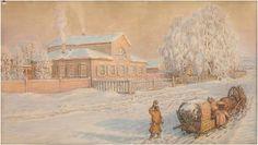 Аполинарий Васнецов. Наш дом в Рябово