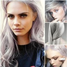 Not Your Grandma's: White Silver Hair