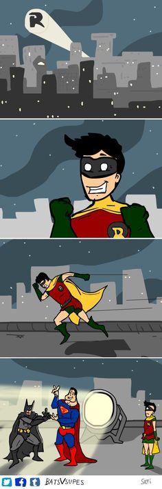 Robin signal.