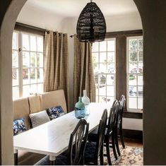 "Pebble Hill Design & Creative on Instagram: ""Small space solutions by Pebble Hill Design...1930's cottages are big on charm, but small in every other regard- this tiny dining alcove…"""