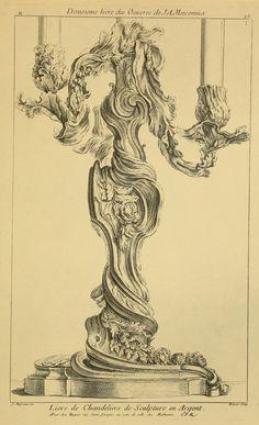 La plus belle méditation formelle de Juste-Aurèle Meissonnier. Voyez développement dans Article. Epingle 8. Pinterest/disdierdefay