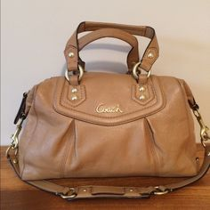 Coach authentic Very good condition some light wear in handle and hardware feet overall great Coach Bags Shoulder Bags