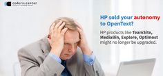 HP sold your autonomy to OpenText? HP products like TeamSite, MediaBin, Explore, Optimostmight no longer be upgraded. Move your existing platform to one of our ECMS systems! ->http://offering.coders.center/hp2opentext