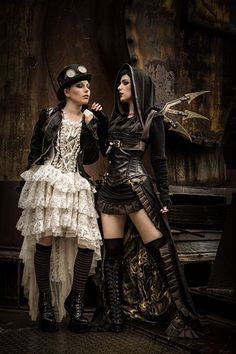 Steampunk | Period | Victorian | Beauty | Fashion | Costume | Couture |