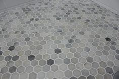 "like tile shower floor -- One Project Closer's ""Before and After"" Series Weekly Winner! - Beneath My Heart"