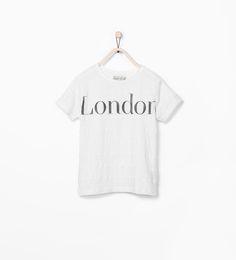 """Camiseta rayas """"London"""" de Zara"""