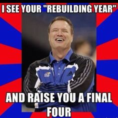 Rock Chalk for life :)