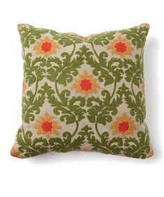Take a look at this Tuscan Verdure Ember Pillow by Villa Home Collection on #zulily today!