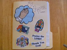Prayer lapbook