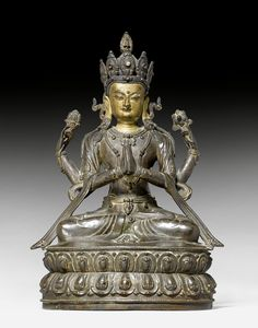 Tibetan Buddhism, Buddhist Art, Angel Statues, Buddha Statues, Tibet Art, Vajrayana Buddhism, Art Asiatique, 17th Century Art, Old Cemeteries