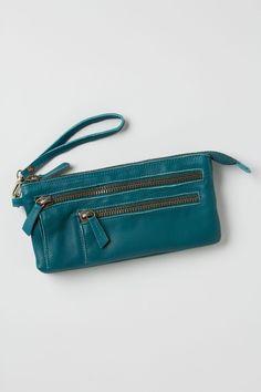 Washed Leather Wristlet - Anthropologie.com