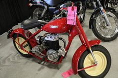 OldMotoDude: 1949 Mustang Model 2 sold for $9,000 at the 2017 M...