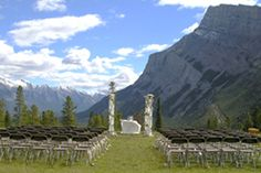 Our wedding ceremony location Tunnel Mountain Reservoir - Banff Outdoor Wedding Venues, Wedding Ceremony, Canadian Rockies, Getting Married, Places Ive Been, Beautiful Places, Banff Ab, Mountain, Travel