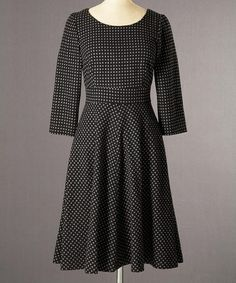 Take a look at this Pewter Kate Wool-Blend Dress - Women by Boden on #zulily today!
