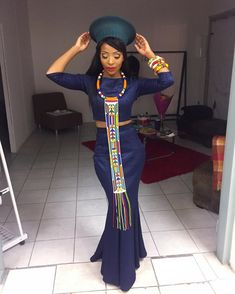 South Africa's Pear Modiadie South African Dresses, African Dresses For Women, African Print Dresses, African Attire, African Wear, African Fashion Dresses, African Women, African Traditional Wedding, African Traditional Dresses