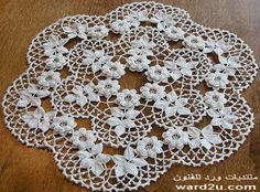 Linens crocheted flowers to stylish decor - Page 18 - Lord of the Arts