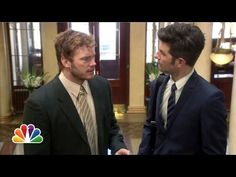 ▶ Parks and Rec Jumps the Pond - My two favorite things