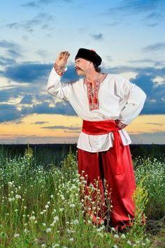 Украинский костюм чоловичий