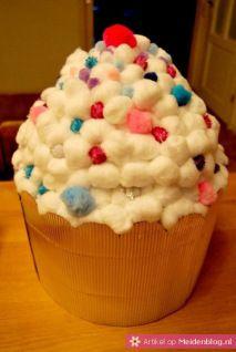 Surprise cupcake