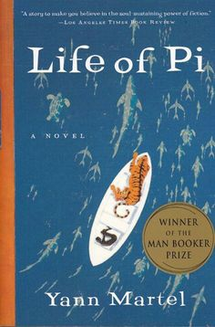 Life of Pi, I just realized that I had never pinned this one, though it was amazing. I just watched the movie, which I thought was great. This is one of those books that sticks with you!