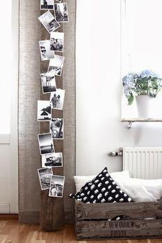 Foto: Tolle Idee um Fotos mal anders darzustellen. Super Alternative für den langweiligen Bilderrahmen. Veröffentlicht von Sina1983 auf Spaaz.de