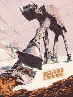 The Empire Strikes BackCreated byJuan Esteban RodríguezArtist: Tumblr   Website   Behance