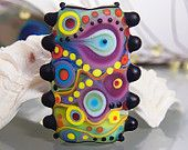 Soul to Soul - Art Glass focal bead by Michou P. Anderson